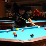 Efren playing one-pocket