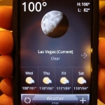 only 100 degrees (AT NIGHT)