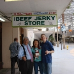 Visit to our friends at The Beef Jerky Store on Fremont Street