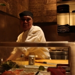Carlos, our sushi chef