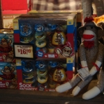 The Dirty Monkey at the Cracker Barrel window