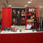 Allison's booth