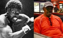 Ron Lyle, heavy weight boxing champ & Felt regular